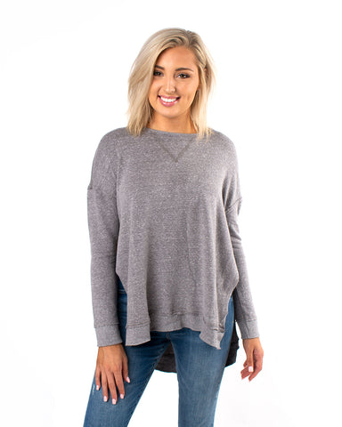 The Tri-Blend Vacay Pullover