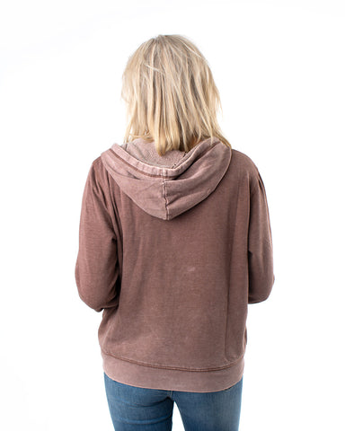 The Faded Wash Hoodie