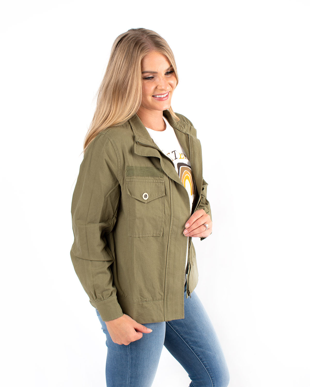 Double Pocket Casual Jacket