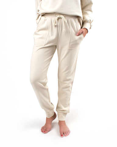 Drawstring Jogger Lounge Set-Jogger