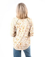 Leopard Printed Thermal Top