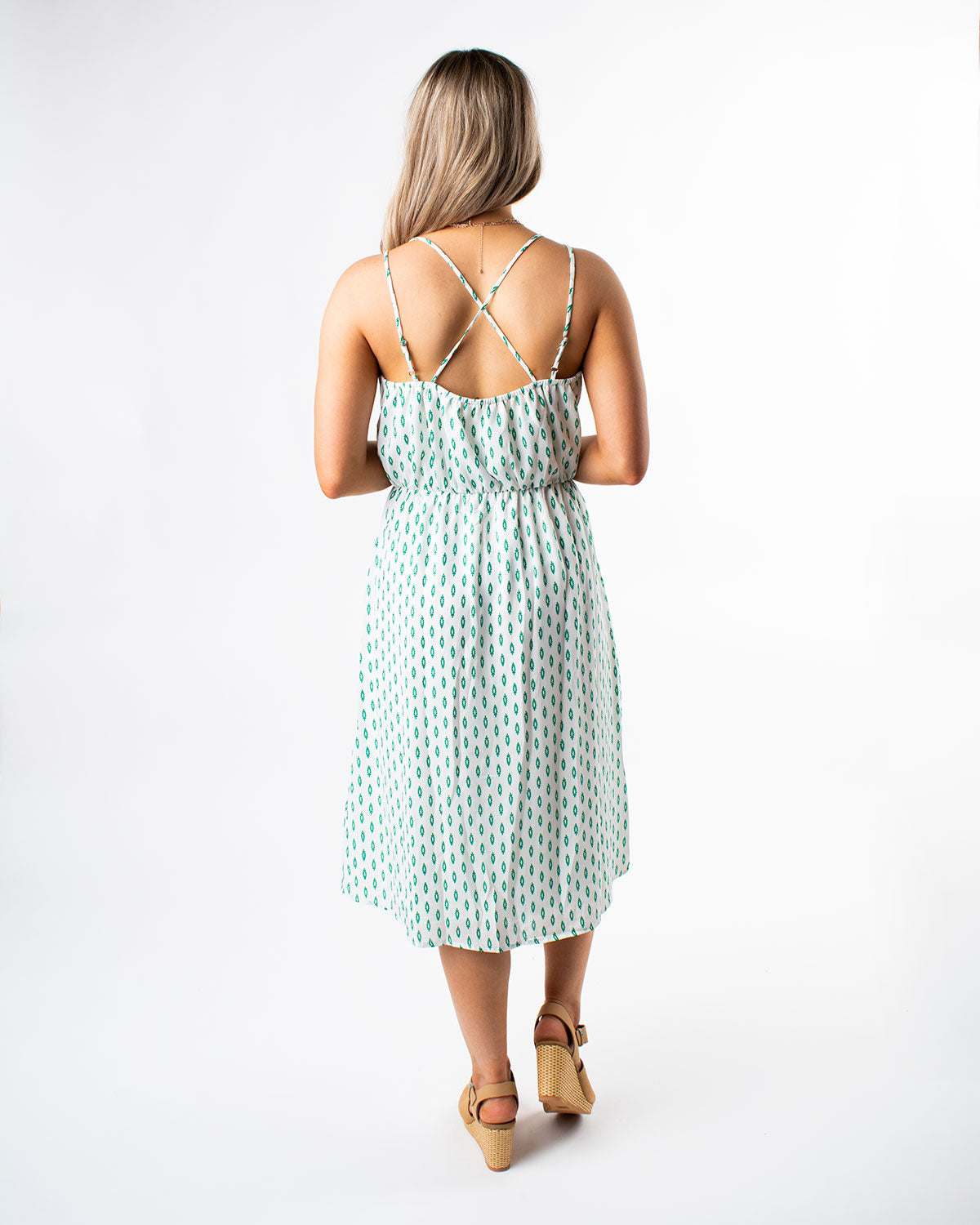 Juliette Cross Back Dress