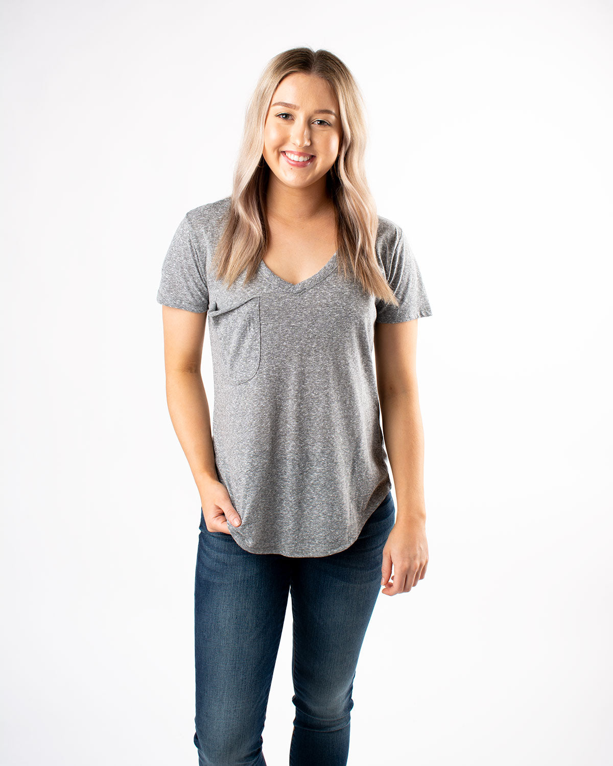 The Tri-Blend Pocket Tee