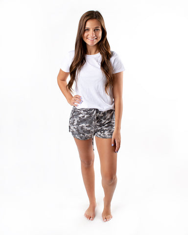 Camo Casual Athletic Shorts