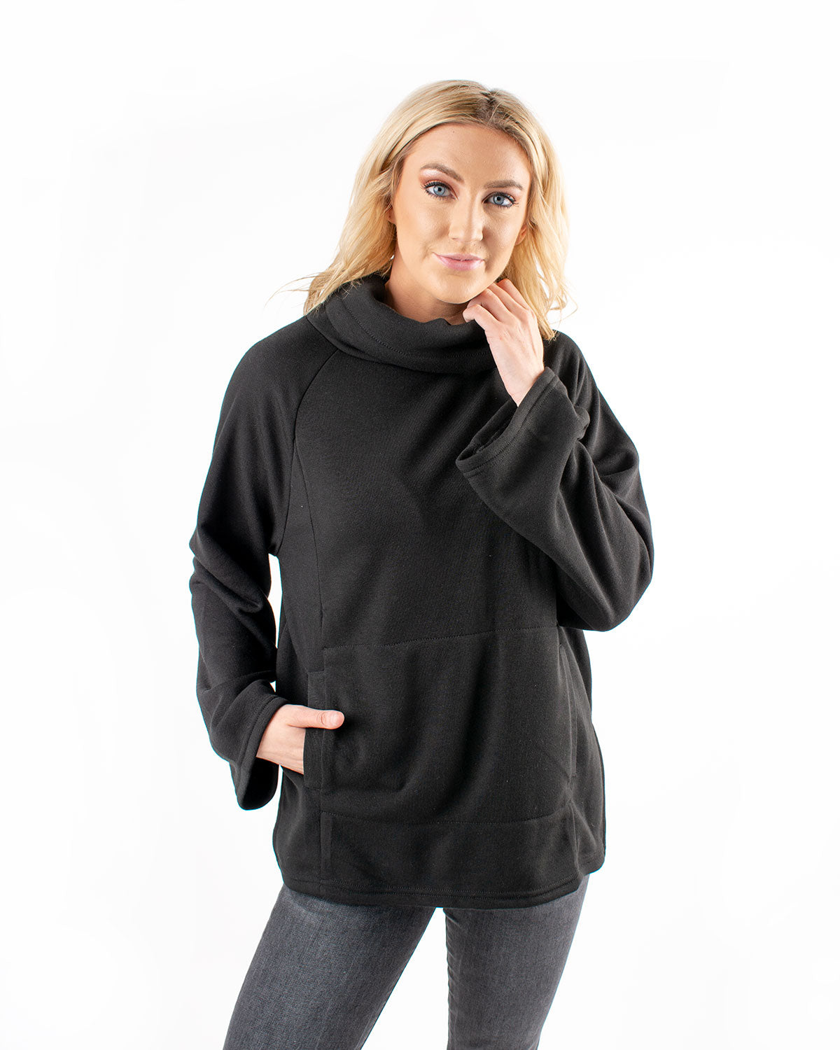 The Jordyn Loft Fleece Pullover