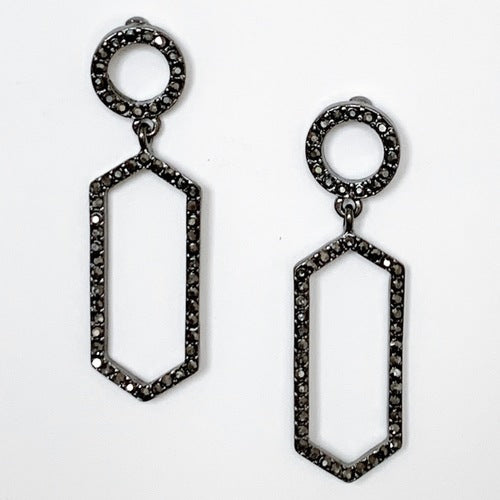Crystal Statement Earrings II