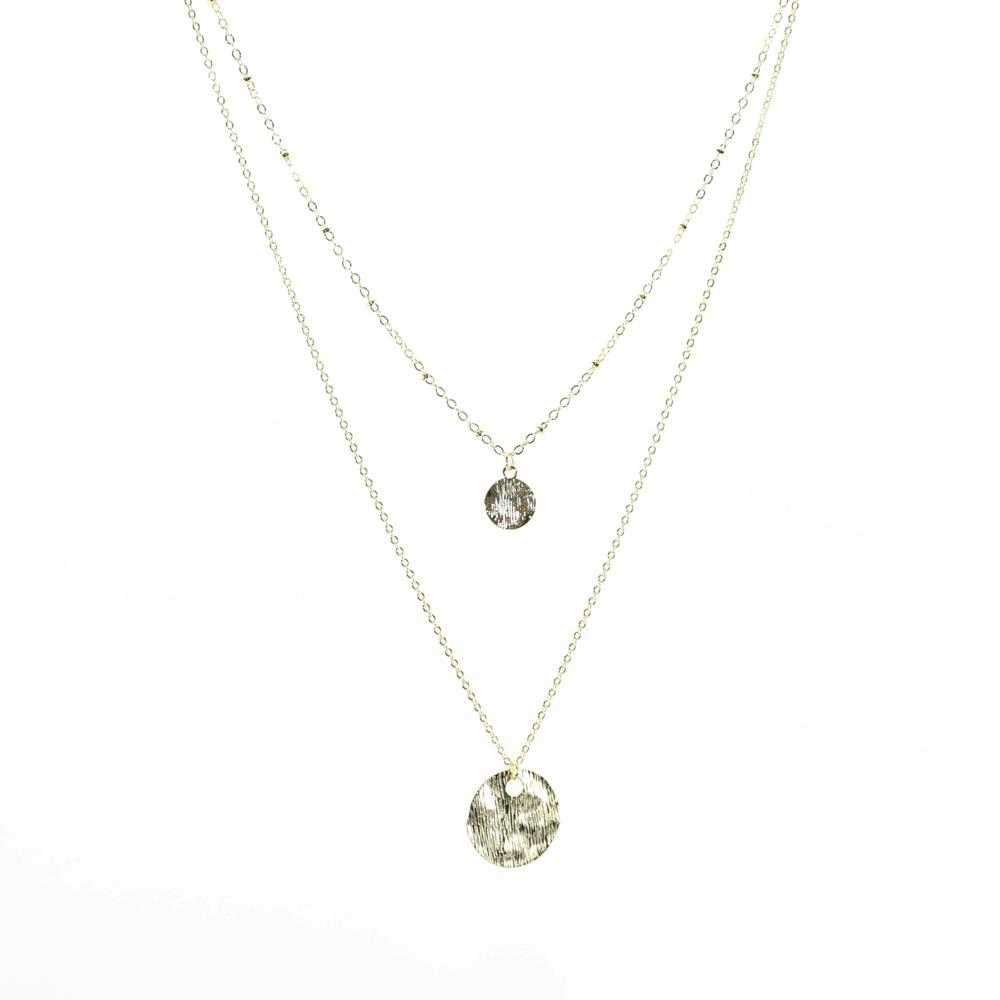 Short Dime Piece Necklace