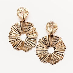 Metal Statement Earring