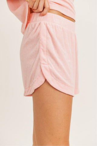 Terry Pile Essentail Tulip Shorts