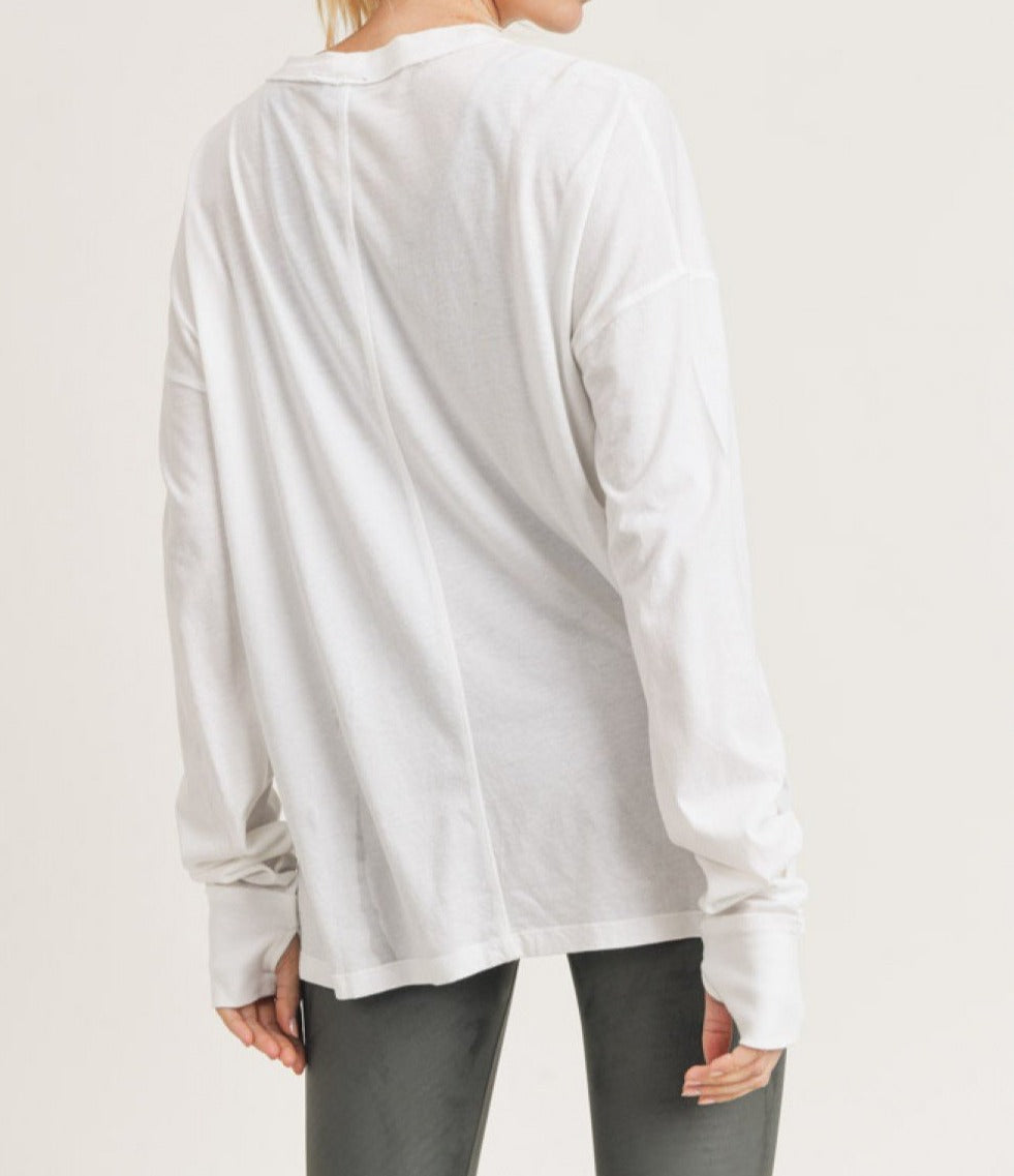 Longline Hi-Lo Sweater