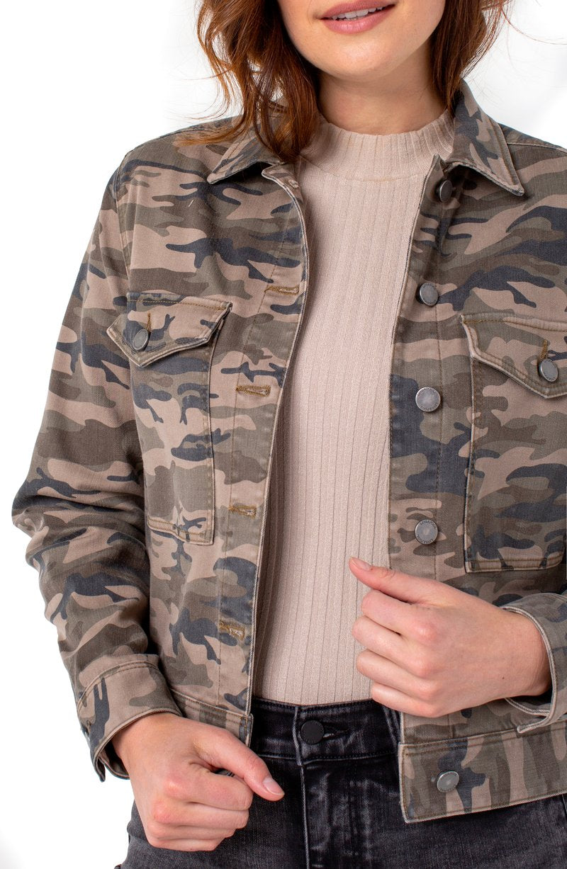 Jacket W/ Patch Pockets