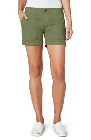Utility Short With Flap Pockets 4.75' ins