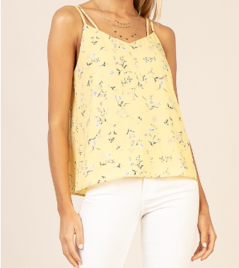 Ditsy Floral Double Strap Cami