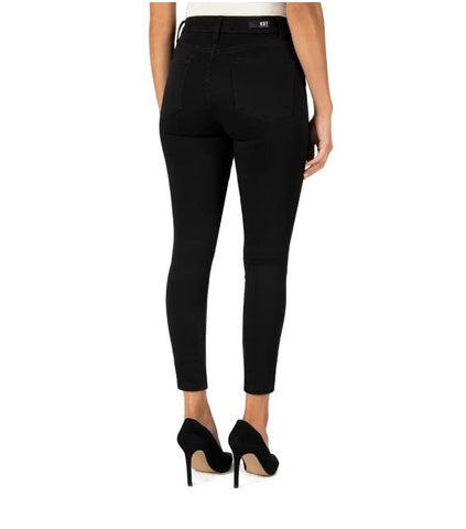 Donna High Rise Moto Skinny