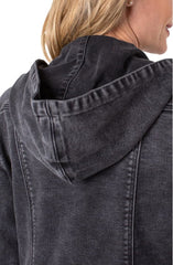 Self Hooded Jacket