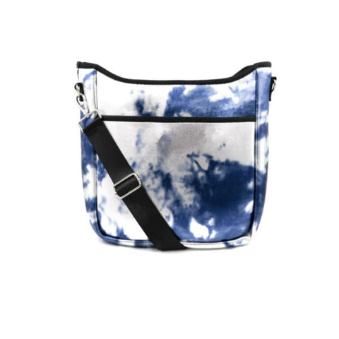 Tie Dye Neoprene Crossbody Bag