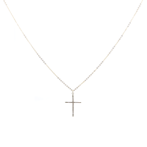 "Prince 15"" Cross Necklace"