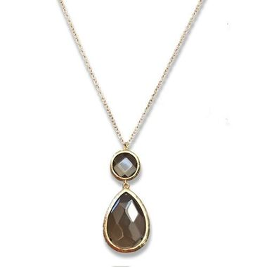 Bianca Long Necklace W/ Stone