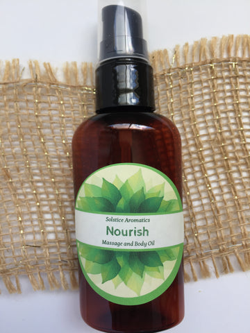 Nourish Massage and Body Oil