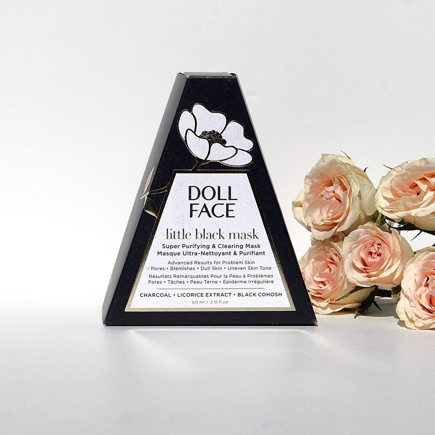 Nature21 Blvd_Doll Face LITTLE BLACK MASK Super Purifying & Clearing Mask