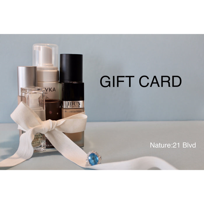 Nature21 Blvd_Gift Card