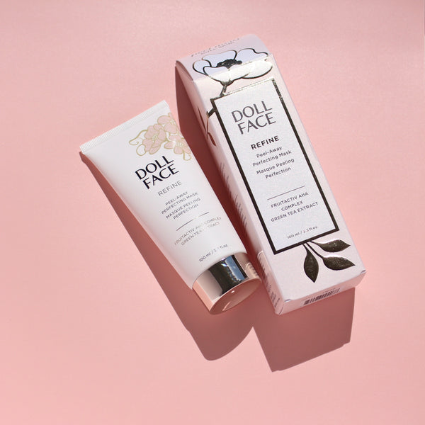 Doll Face Refine Peel Away Refining Gel Mask