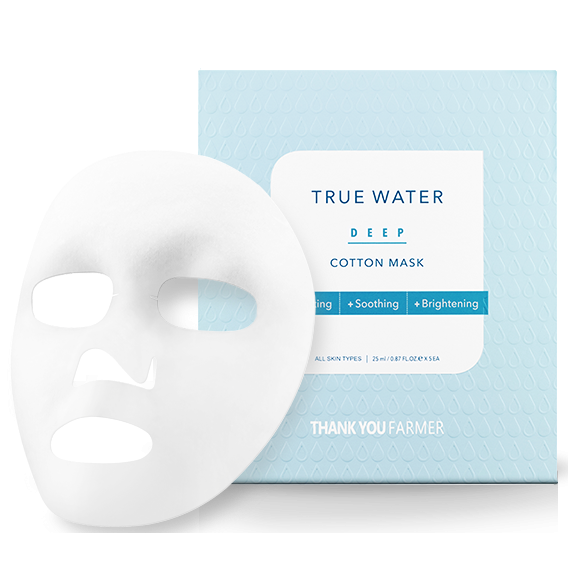 Nature21 Blvd_Thank You Farmer True Water Deep Cotton Mask