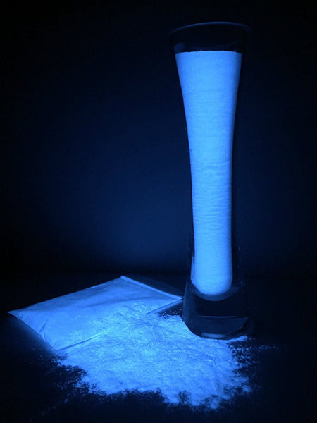 EliGlow - Glow Powder - Photo-Luminescent Pigment - COBALT BLUE - Resin Works