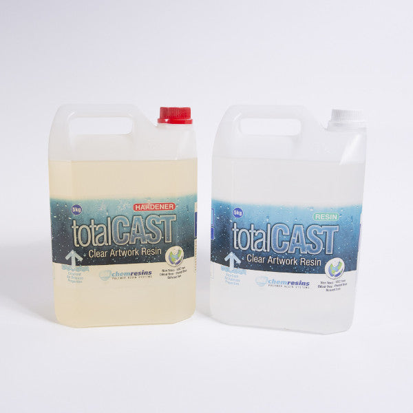 TotalCAST Clear Artwork Resin - Professional 10KG - Resin Works