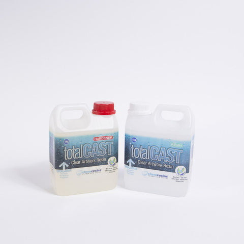 TotalCAST Clear Artwork Resin - Creative Kit 2KG - Resin Works