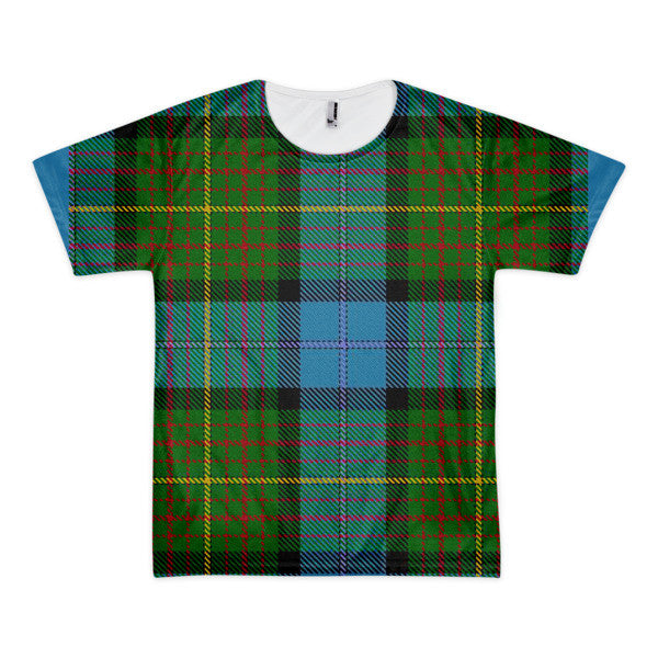 Men's/Unisex California State Tartan Shirt