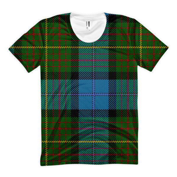 Womens' California State Tartan Shirt