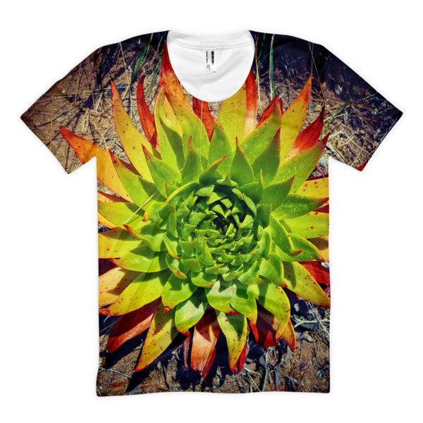 Womens' Succulent Shirt
