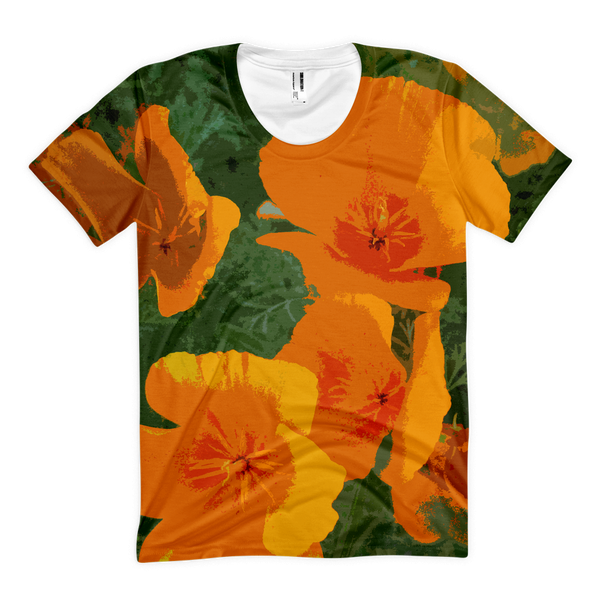 Womens' California Poppy Shirt