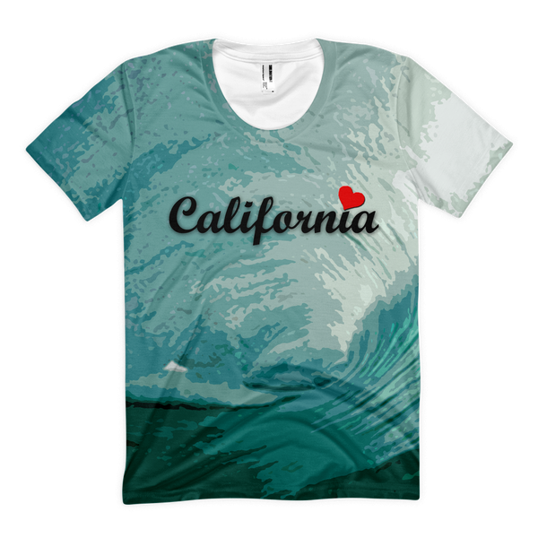 Womens' California Wave Shirt