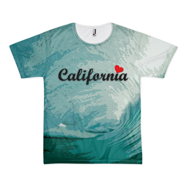 Men's/Unisex California Wave Shirt