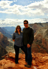 Mike and Sharon Zion Canyon View Rental Home Managers