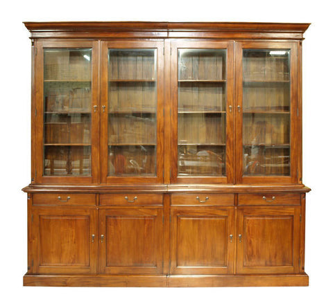 Glass Door Book Cabinet