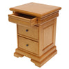 Wide Hidden Drawer Bedside Cabinet