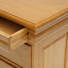 Hidden Drawer Wide Bedside Cabinet