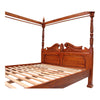 Queen Anne Four Poster Bed - King Size