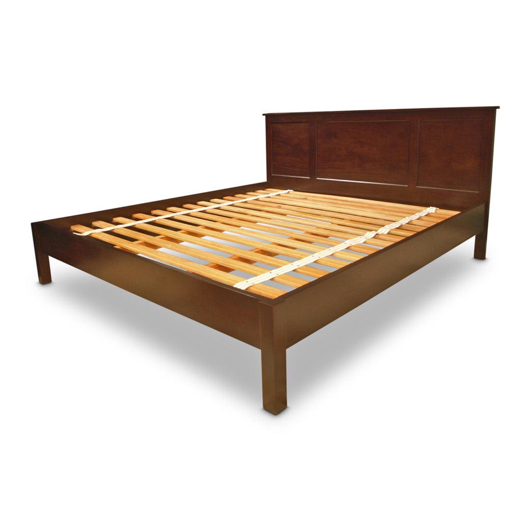 Hamptons Low Footboard Bed - Queen size