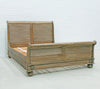 Cezanne Sleigh Bed - King size - Wholesale