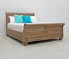 Cezanne Sleigh Bed - Queen size - Wholesale