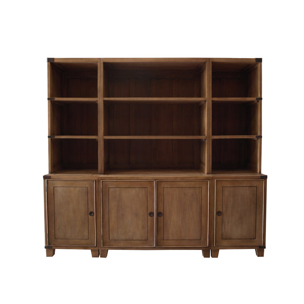 Campaign 4 Door Office Bookcase