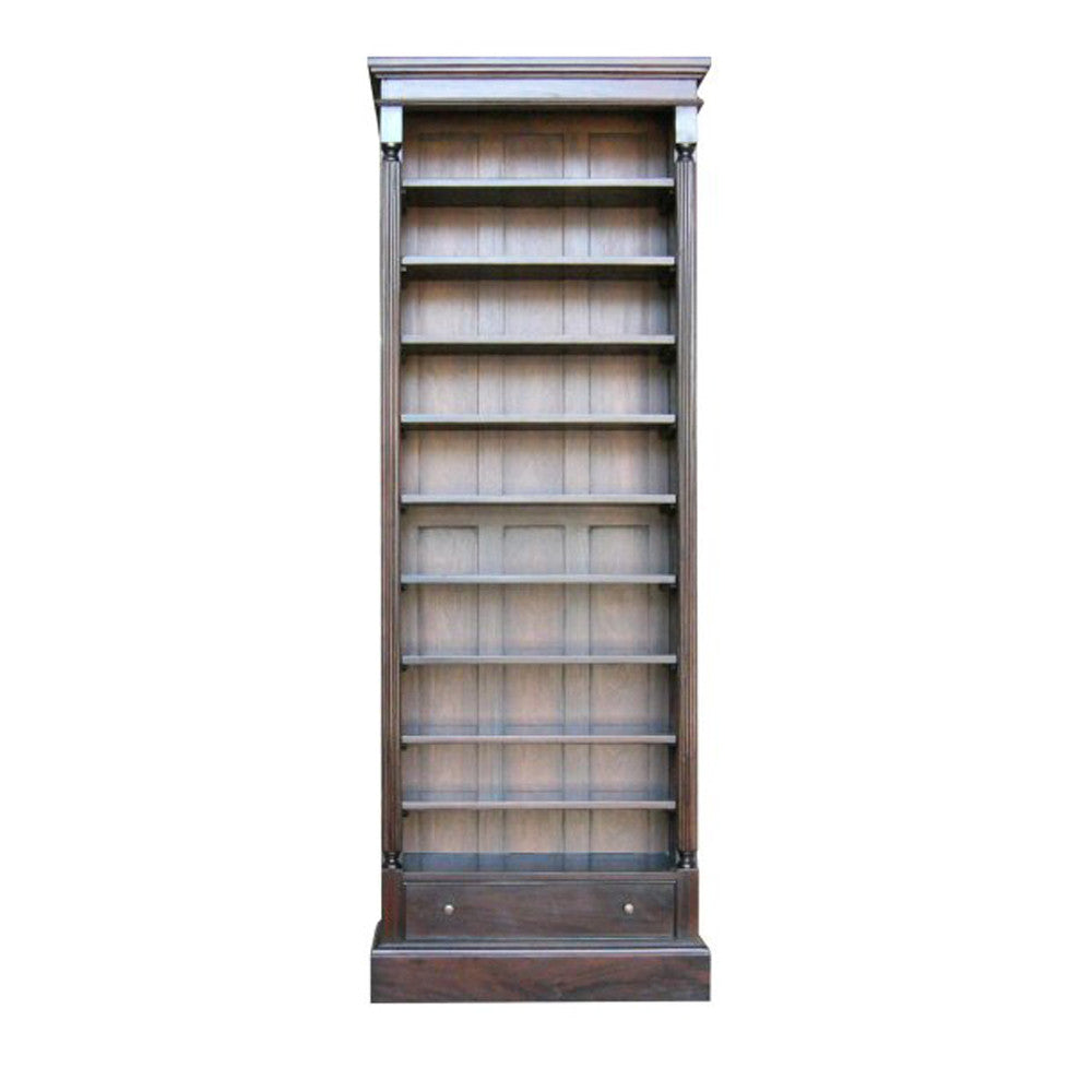 Ten Shelf Open Bookcase