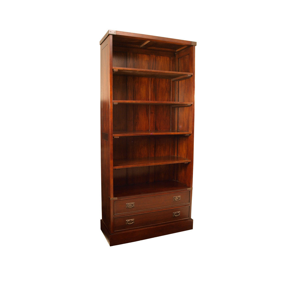 Campaign  4 Shelf Bookcase