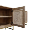 Mala timber and rattan buffet
