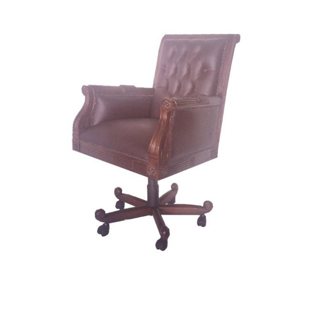 Library Armchair With Swivel And Tilt