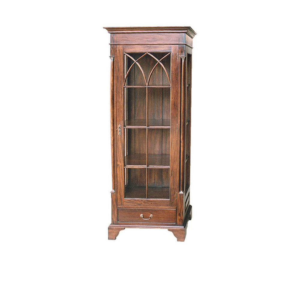 Crystal Cabinet Hudson Furniture